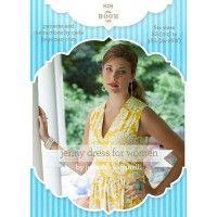 Jenny Dress for Women Sewing Pattern | Martha Pullen