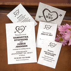 Ingrid Wedding Invitations The American Wedding  http://www.theamericanwedding.com/ingrid-wedding-invitations.html