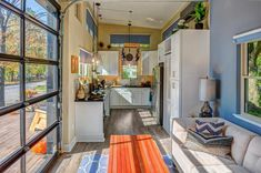 Tiny House Interior - Amplified Tiny House