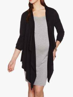 Stork & Babe Wrap Maternity Cardigan #ThymeBabyShower Nursing Wear, Stylish Maternity, Duster Coat, Stork, Mom, Sweaters, Babe, Jackets, How To Wear