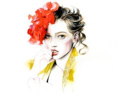 Caroline Andrieu | Flores e Corações