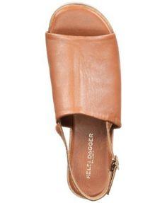 Kelsi Dagger Brooklyn Dumont Flatform Sandals - Tan/Beige 9.5M