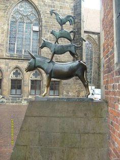 Photo Monument/Mémorial Les musiciens de la ville de Brême (Bremer Stadtmusikanten)