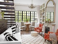Genevieve Gorder's lovely #NYC home! Step inside #hgtvmagazine http://www.hgtv.com/decorating-basics/genevieve-gorder-at-home/pictures/page-2.html?soc=pinterest