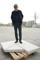 Martin Boyce _Martin Boyce is a Scottish sculptor inspired by early 20th century modernism