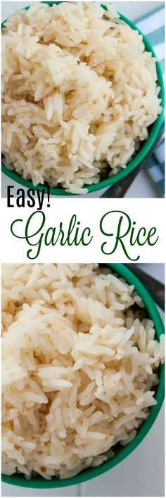 Garlic rice is seriously so easy to make you will be shocked! It is such a great way to enhance a meal with very little effort.