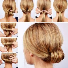 Easy hairstyles ideas step by step video tutorials for beginners