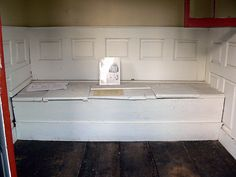 18th century privy with 2 seats, via Flickr