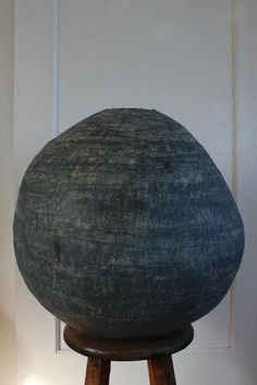 Tsubo - Kazunori Hamana.  I go back to simple, organic forms. Is this minimalist? Who am I even asking out there.