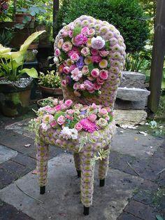 Floral Garden Chair by Andreas Verheijen