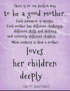 Even her step-children! ♡♥