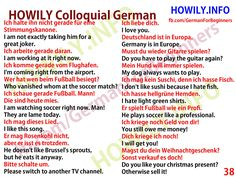 Colloquial German 38