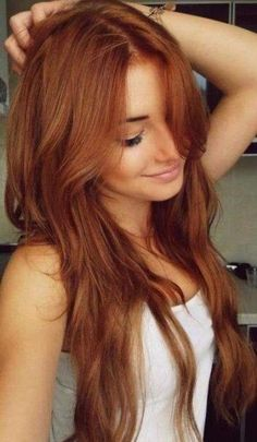 That hair color!