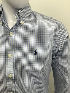 #RALPHLAUREN #Mens #Shirt Small #CUSTOM FIT Blue #CHECKED #CHEAP #DESIGNER #FASHION #MENSWEAR #MENSTYLE #MACMENSWEAR #MENSCLOTHING #MENSFASHION http://stores.ebay.co.uk/MACMenswear