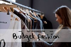 Looking for great budget fashion stores to shop at? Here's my top 10 list!