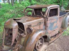 truck Old Truck by David W.~ I love old and rust~ JDOld Truck by David W.~ I love old and rust~ JD Antique Trucks, Vintage Trucks, Antique Cars, Farm Trucks, Old Trucks, Abandoned Cars, Abandoned Places, Junkyard Cars, Lifted Ford Trucks