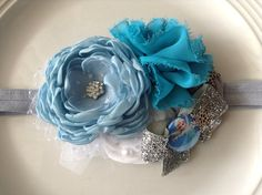 Frozen headband by JensBowdaciousBows on Etsy, $18.95