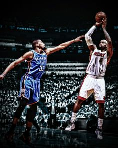 James(#1) vs Durant(#2)
