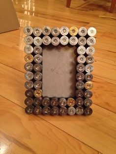 Shotgun shell 4x6 picture frame hunting by SilverThornDesignArt