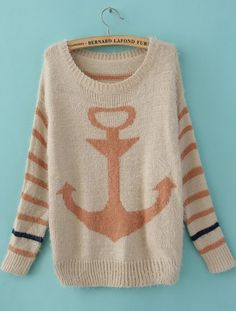 Anchor Mohair Sweater