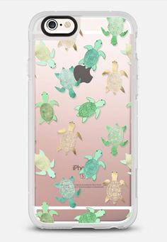Turtles on Clear II iPhone 6s case by Tangerine- Tane | Casetify