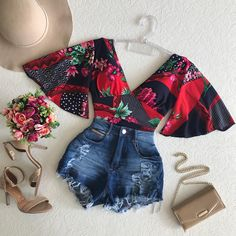 Fall Outfits To Inspire Every Girl - Page 32 of 60 - Women Fashion's Cute Summer Outfits, Classy Outfits, Chic Outfits, Trendy Outfits, Fall Outfits, Teen Fashion Outfits, African Fashion Dresses, Mode Rockabilly, Crop Top Outfits