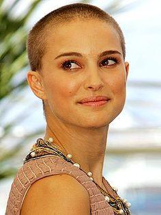 Natalie portmans shaved head remix