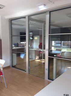 Mampara doble cristalera French Door Refrigerator, Sliding Doors, French Doors, Divider, Kitchen Appliances, Room, Furniture, Home Decor, Shopping