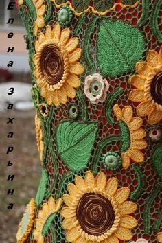 Елена Захарьина (Бочарова). Irish crochet. Freeform. irish crochet patterns. Motifs. Leaves. Ирландское кружево. Техника ирландского кружева. Фриформ. Мотивы. Схемы. Листы. Цветочные мотивы. Цвета. Irish krajky. Motivy. Schema. Květinové motivy. Бурдон. Гусеничка. Irish Crochet bourdon. Lístí.