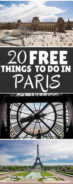Top 20 Free Things To Do In Paris - Flight, Travel Destinations and Travel Ideas Paris France Travel, Paris Travel Guide, Europe Travel Tips, European Travel, Places To Travel, Places To Go, Budget Travel, Paris Things To Do, Free Things To Do