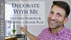 In this week's video, I'm sharing an update on the apartment decorating situation, as well as my ideas on how to get started on a decorating project & how/why drawing floor plans to scale is über important!