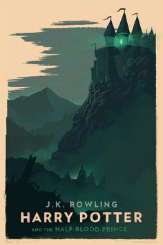 Harry Potter and the Half-Blood Prince Poster - Olly Moss