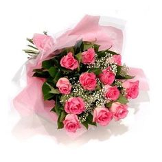 15 Pink Roses Bunch online delivery in Hyderabad India.send it from usa.