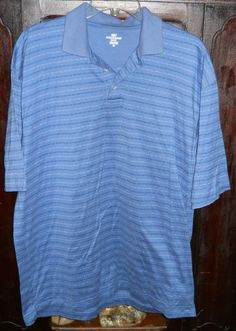 Dockers' Men's Polo Golf Shirt~Medium~Blue Navy White~100% Cotton~Casual Wear | Sporting Goods, Golf, Golf Clothing, Shoes & Accs | eBay!