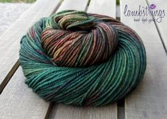 Ewetopia Worsted, Hand dyed yarn, Superwash Merino Wool, 218 yds/ 100g: Venery. by Lambstrings on Etsy