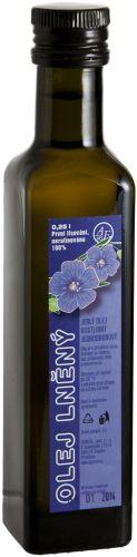 Lněný olej | AGRO-EL Znojmo Juice Bottles, Korn, Shampoo, Drinks, Drinking, Beverages, Drink, Beverage