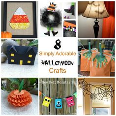 Halloween is a fun time of the year for all the little ones. However, not everyone is a fan of the spooky and scary part of the holiday. These 8 crafts are perfect for keeping things festive and …