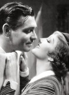 """Two of my Beautiful People..together! I love this movie. ~W    Clark Gable and Claudette Colbert in """"It Happened One Night"""" (1934)"""