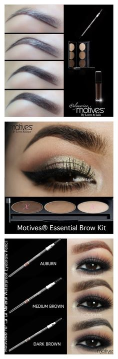 How to get the perfect eyebrow with Motives Cosmetics.  Find the look at www.motivescosmetics.com/cayanashley . Use code 10OFFMA for 10% off until May 1st, 2016!