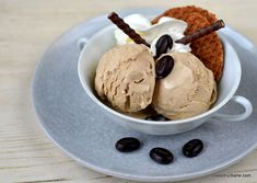 Frozen Desserts, Sorbet, Parfait, Deserts, Ice Cream, Kitchen, No Churn Ice Cream, Cooking, Desserts