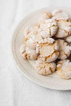 Almond Semolina Cookies- Life Love Food