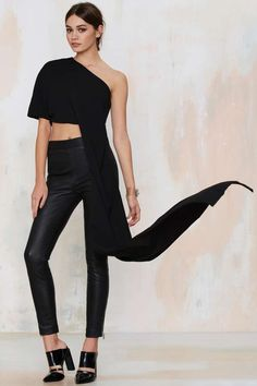 Solace London Chrysa Crop Top   Shop Clothes at Nasty Gal!