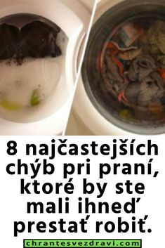 8 najčastejších chýb pri praní, ktoré by ste mali ihneď prestať robiť. Ale, Desserts, Food, Tailgate Desserts, Deserts, Eten, Ales, Postres, Dessert