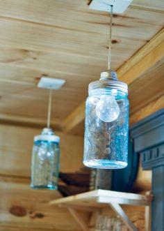 ~ jar lamp ~