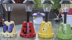 Clay pots for your outdoor lights