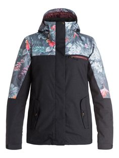 ROXY Jetty Block Snow Jacket We asked the internationally renowned artist, and our absolutely favourite doodler Hattie Stewart, if she'd like to customise some of our 2017 snow outerwear with her play