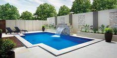 Elegant #fiberglass design. #pool