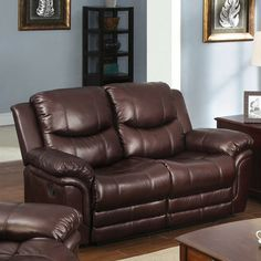 fabric reclining loveseat - Google Search
