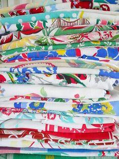 vintage tablecloths!/W-O-W!!