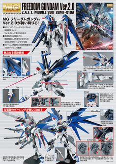 [SAMPLE REVIEW UPDATED] MG 1/100 FREEDOM GUNDAM Ver.2.0 a LOT of Official Big Size Images, Info Release http://www.gunjap.net/site/?p=297873